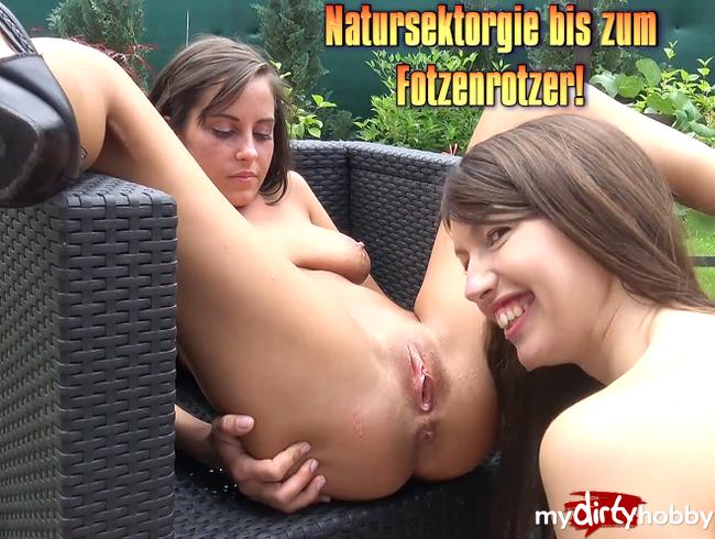 Video Thumbnail Natursektorgie bis zum Fotzenrotzer!