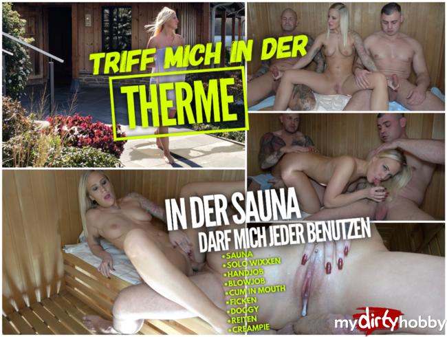 Video Thumbnail TRIFF MICH in der Therme | In der Sauna darf mich jeder benutzen