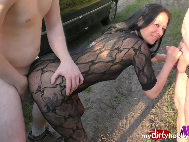 Video Thumbnail Pornostar Mareen Deluxe ihr heißer Outdoor Sex