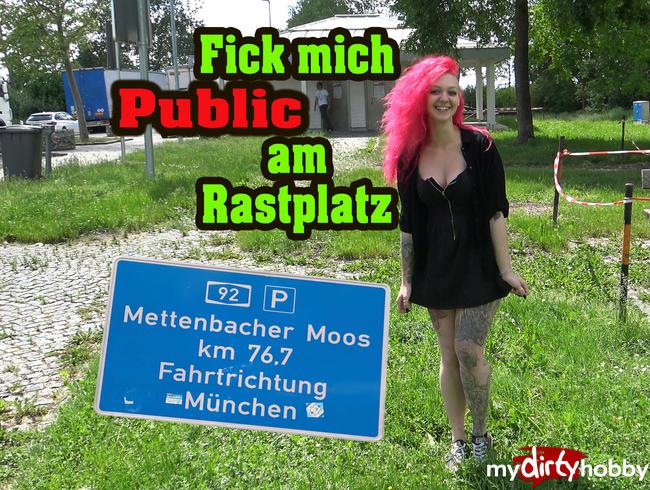 Video Thumbnail Fick mich ohne GUMMI Public am Rastplatz