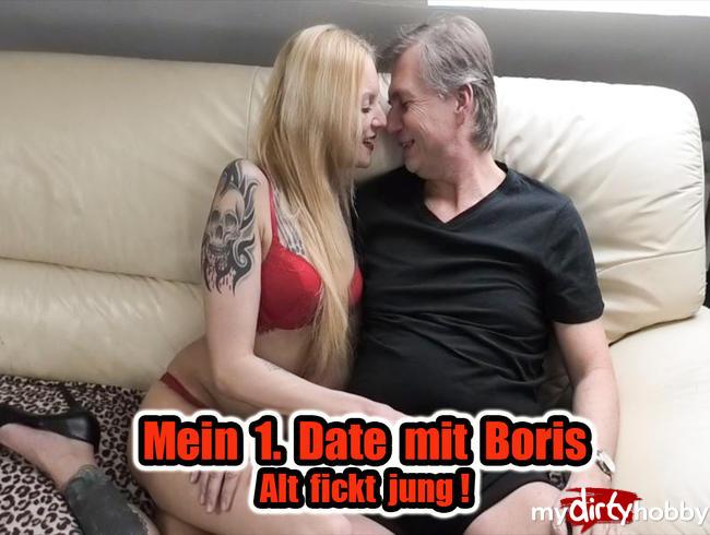 Video Thumbnail Mein 1. Date mit Boris - Alt fickt jung