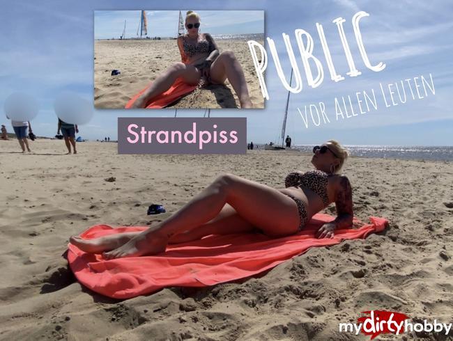 Video Thumbnail Strandpiss vor allen Leuten - ich musste einfach