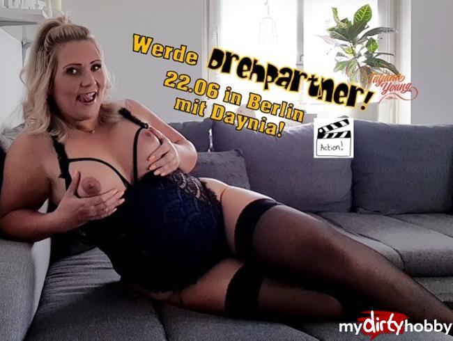 Video Thumbnail Werde Drehpartner! Drehtag am 22.06 in Berlin!