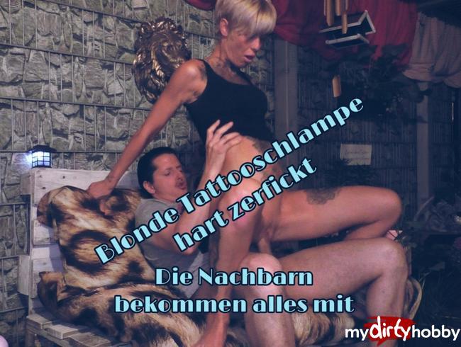 Video Thumbnail Gierige Tattoschlampe zerfickt...