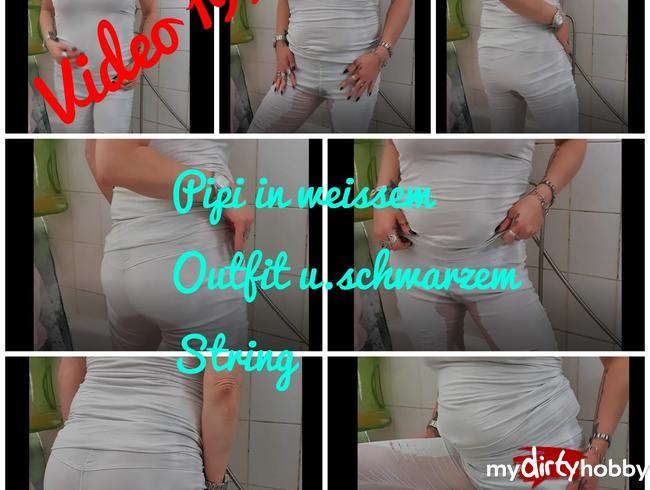 Video Thumbnail Pipi im weissen Outfit und schwarzem String