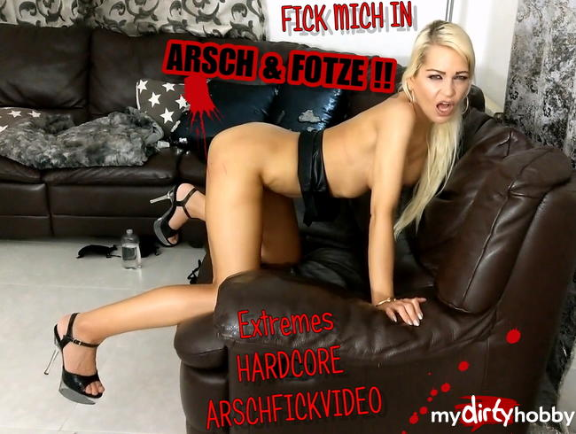 Video Thumbnail EXTREMES HARDCOREVIDEO : FICK MICH IN ARSCH UND FOTZE !!