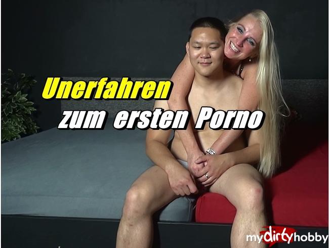 Video Thumbnail Unerfahren zum ersten Porno - Asia Snack
