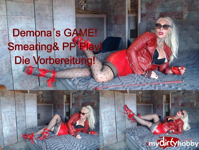 Video Thumbnail Demona´s GAME! SMEARING (Einschmieren) und PPPlay Instruktion! Vorbereitung!