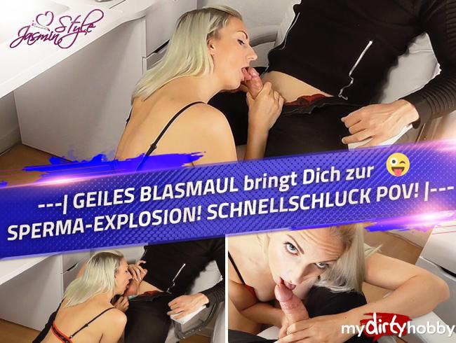 Video Thumbnail ---| GEILES BLASMAUL bringt Dich zur SPERMA-EXPLOSION! SCHNELLSCHLUCK POV! |---