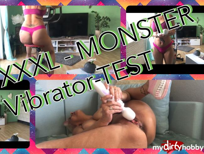 Video Thumbnail Monster -XXXL Vibrator - Fotzensprennung - Autsch