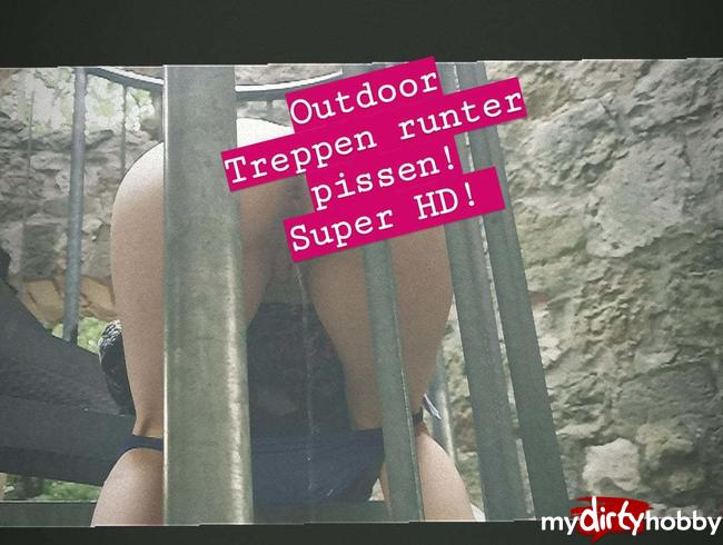Video Thumbnail Outdoor pissen! Super HD!