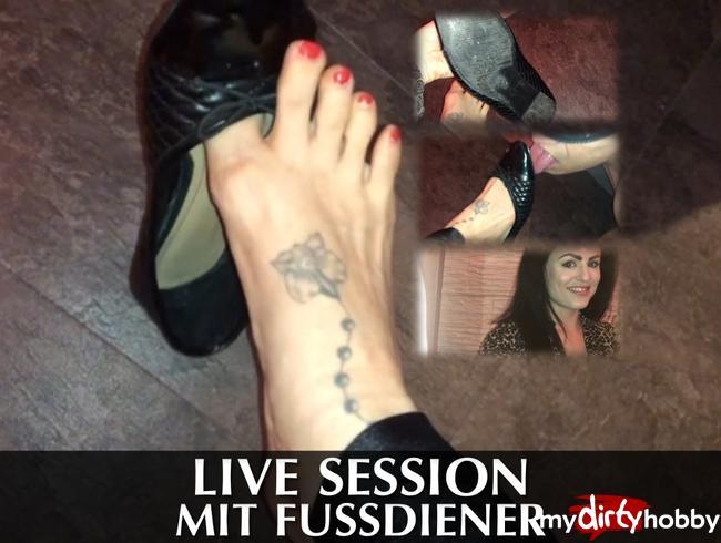Video Thumbnail Live Session mit Fussdiener