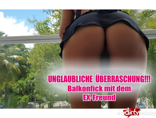 Video Thumbnail UNGLAUBLICHE ÜBERRASCHUNG!!! Balkonfick mit dem EX-Freund