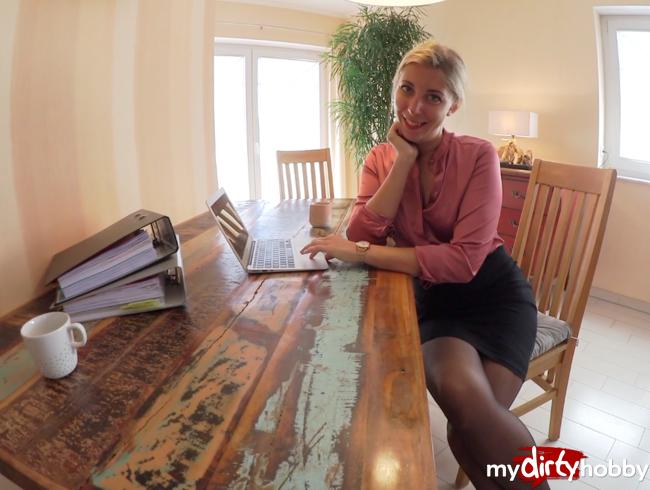 Video Thumbnail Den VORGESETZTEN für einen BONUS ÜBERZEUGT! - In Nylons verführt und AO reingespritzt