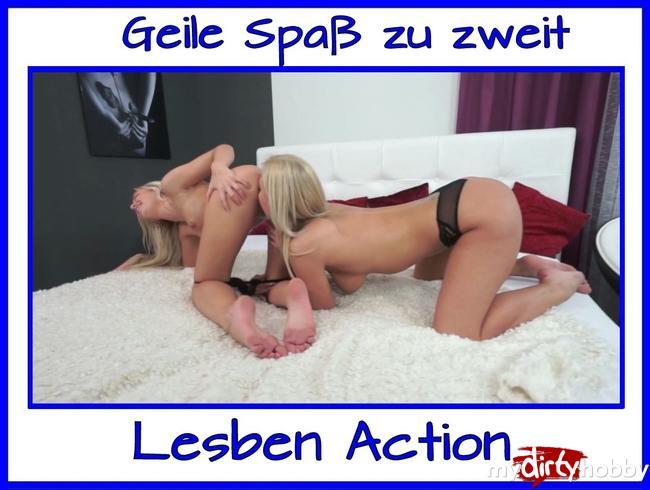 Video Thumbnail Mit Freundin Spaß im Bett zu zweit Teil 2