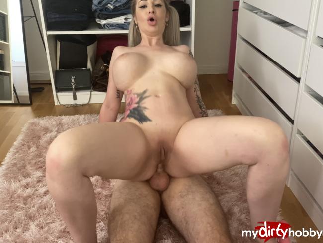 Video Thumbnail So war das nicht geplant !Mein erster Orgasmus lässt ihn zum Schnellspritzer werden !
