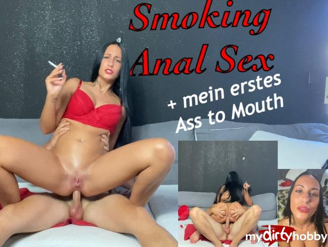 Video Thumbnail Smoking Anal Sex + mein erstes Ass to Mouth