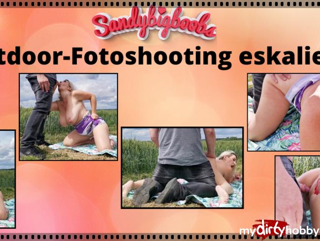 Video Thumbnail Outoor-Fotoshooting eskaliert