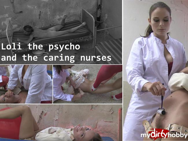 Video Thumbnail Loli the psycho & the caring nurses