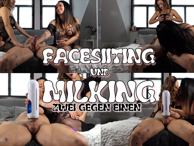 Video Thumbnail FACESITTING und MILKING. ZWEI GEGEN EINEN.