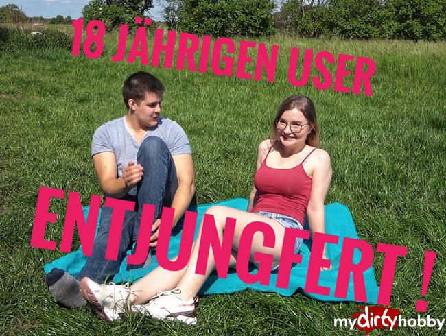 Video Thumbnail 18 Jährigen User Entjungfert Sein Erstes Mal und das Outdoor !!!