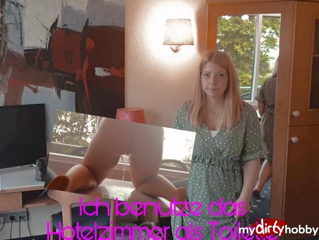 Video Thumbnail Ich benutze das Hotelzimmer als Toilette