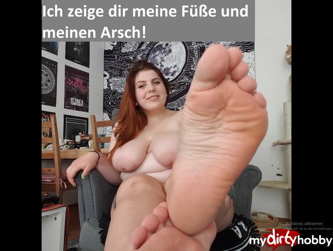 Video Thumbnail Ich zeige dir meine Füße und meinen Arsch!