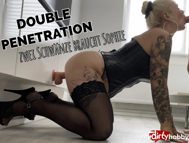 Video Thumbnail DOUBLE PENETRATION | zwei Schwänze braucht Sophie