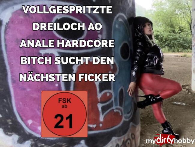 Video Thumbnail VOLLGESPRITZTE DREILOCH AO ANALE HARDCORE BITCH | sucht den nächsten FICKER