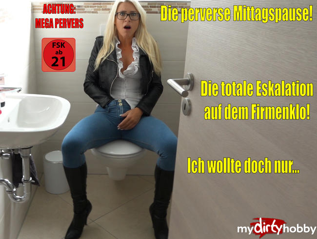 Video Thumbnail Die perverse Mittagspause | Die total versaute Eskalation am Firmenklo!