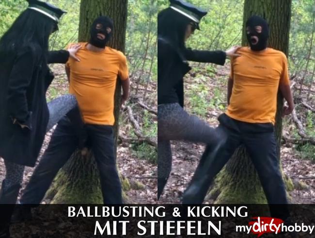 Video Thumbnail Ballbusting & Kicking mit Stiefeln