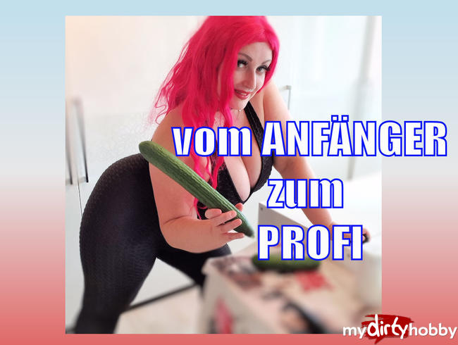 Video Thumbnail vom ANFÄNGER zum PROFI