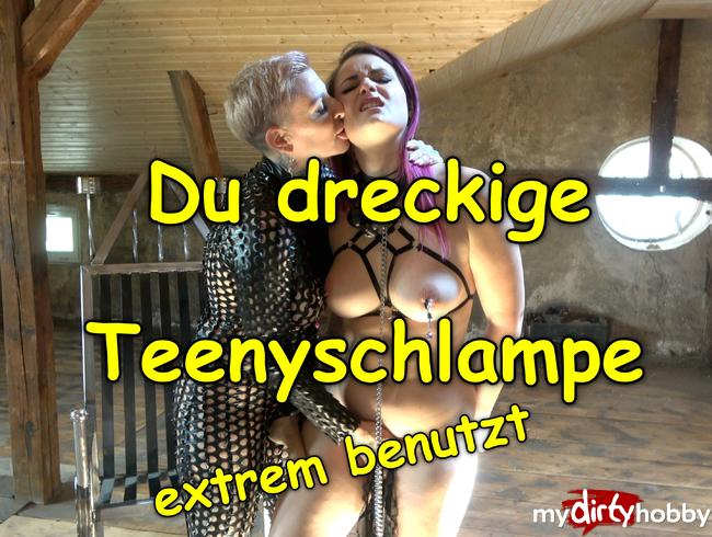 Video Thumbnail Du dreckige Teeny-Schlampe