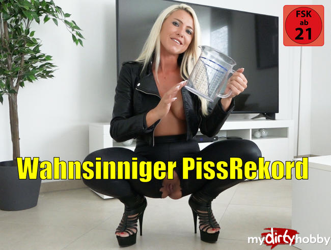 Video Thumbnail Wahnsinniger PISSREKORD |  DAS glaubst DU nie!!!