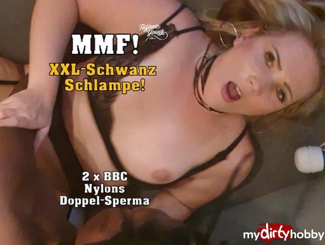 Video Thumbnail MMF! XXL-Schwanz Schlampe!