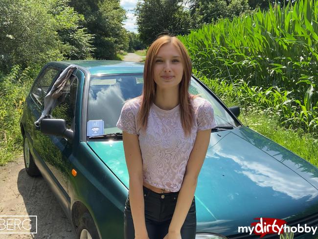 Video Thumbnail Teeniemuschi Outdoor vollgespritzt!