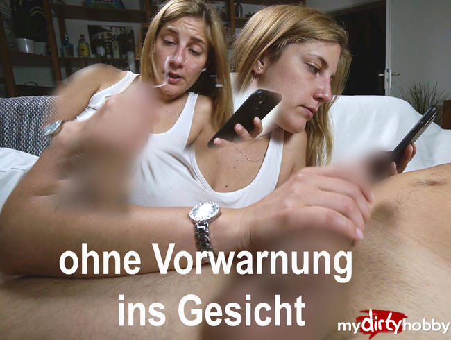 Video Thumbnail Sloppy Handjob. ins Gesicht