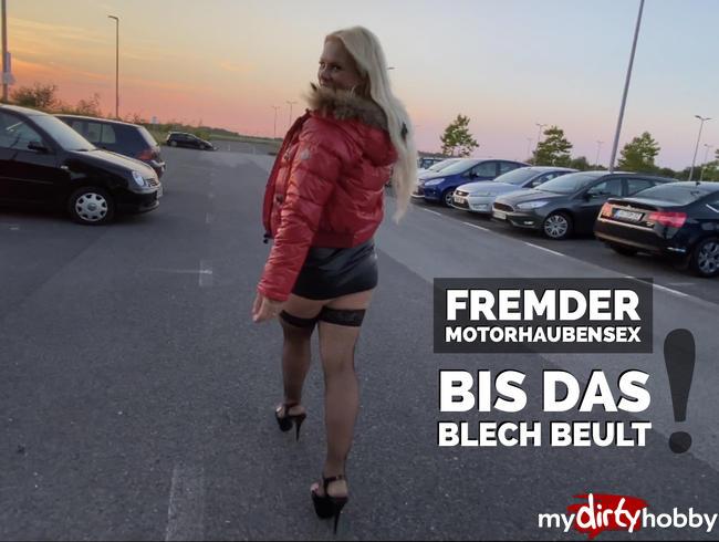 Video Thumbnail Public Parkplatz Sex eskaliert   FREMDER MOTORHAUBENSEX bis das Blech beult :-O