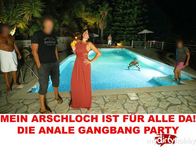 Video Thumbnail MEIN ARSCHLOCH IST FÜR ALLE DA! DIE ANALE GANGBANG PARTY