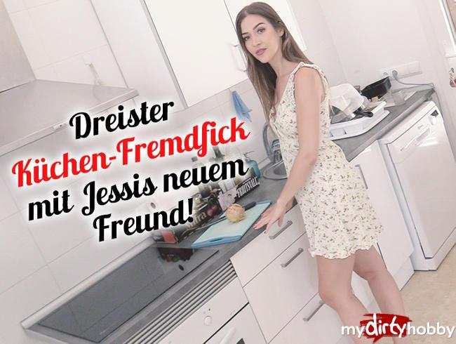Video Thumbnail Dreister Küchen-Fremdfick mit Jessis neuem Freund!