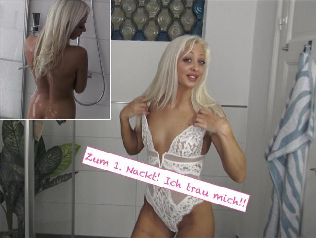 Video Thumbnail Zum 1x Nackt! Ich trau mich!