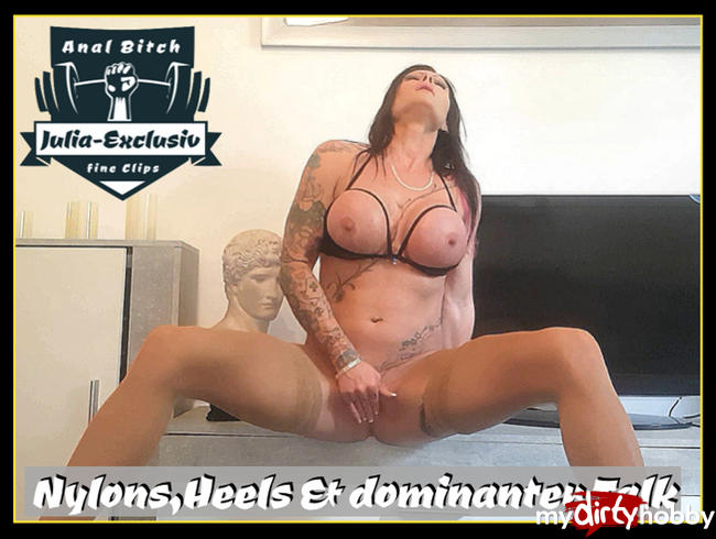 Video Thumbnail Nylons,  Heels und dominanter Talk