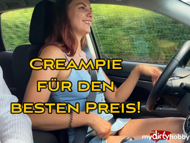 Video Thumbnail Probefahrt - Creampie für den besten Preis