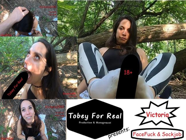 Video Thumbnail Victoria - Sockjob / FaceFuck - Complete - (Victoria1992)
