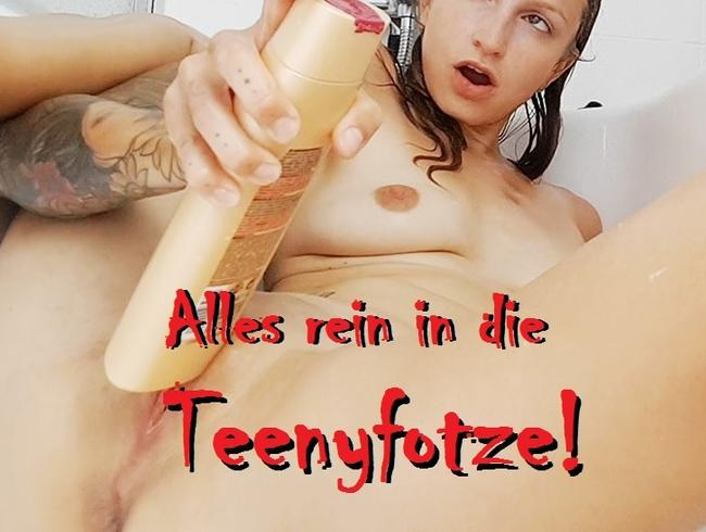 Video Thumbnail Was im Bad rumliegt, geht in meine Teeny-Fotze rein!