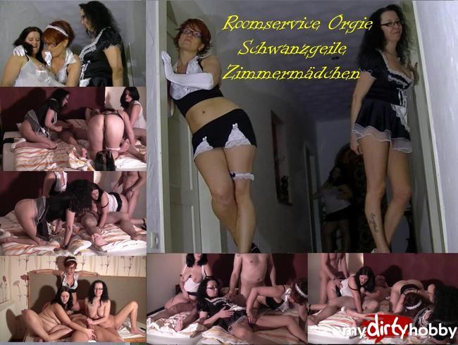Video Thumbnail Geile Roomservice Orgie - Schwanzgeile Zimmermädchen