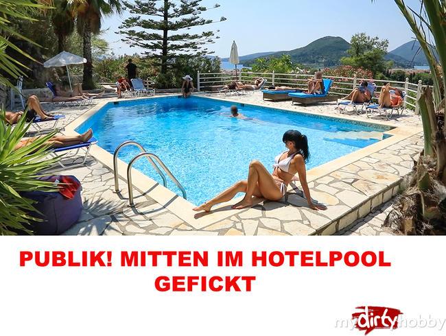 Video Thumbnail PUBLIK! DREIST! MITTEN IM HOTELPOOL GEFICKT