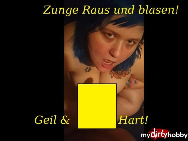 Video Thumbnail Zunge Raus fürs Sperma geil Geblasen