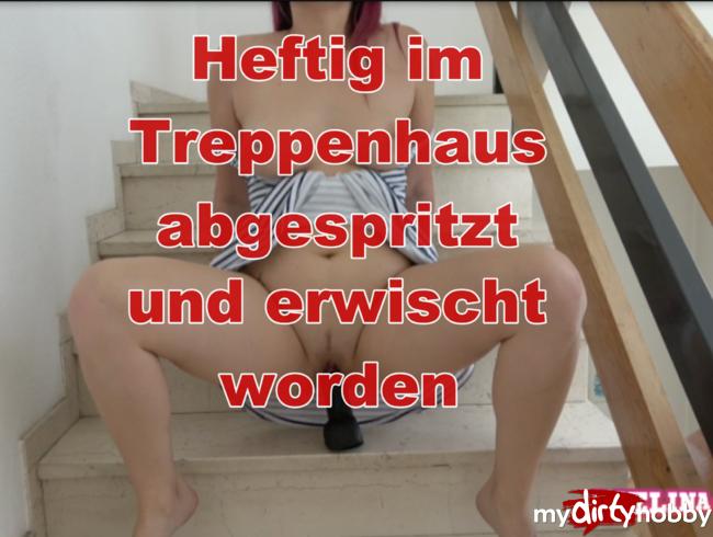 Video Thumbnail Rotzfrech ins Treppenhaus gesquirtet
