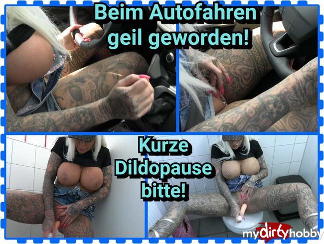 Video Thumbnail Beim Autofahren geil geworden!